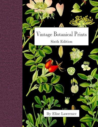 Vintage Botanical Prints: Sixth Edition