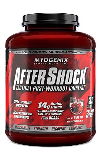 Myogenix AfterShock Wild Berry 5.82 lbs