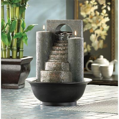 Smart Living Company 10012302 Swm 12302 Eternal Steps Fountain, Multicolor