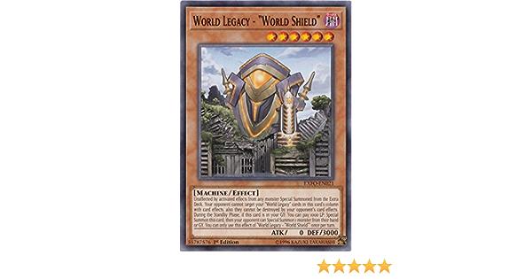 "World Legacy-""World Shield"" MP18-EN184 1ST Edition NM Yugioh!"