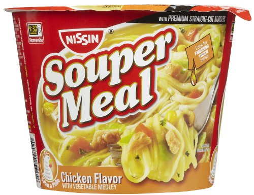 Nissin Souper Meal Chicken w/ Vegetables, 4.3 oz, 12 ct