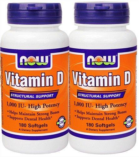 Foods Vitamin D3 1000iu Soft gels 360 Count
