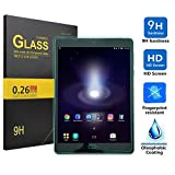 IVSO ASUS ZenPad 3S 10 Z500M Screen Protector - Tempered Glass Protector with [Crystal Clearity] [Scratch-Resistant] [No-Bubble Easy Installation] for ASUS Zenpad Z500M-C1-SL 9.7-Inch Tablet(1pcs)