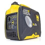 WEN 56200i 1600 Running Watts/2000 Starting Watts 4-Stroke Gas Powered Portable Inverter Generator CARB Compliant