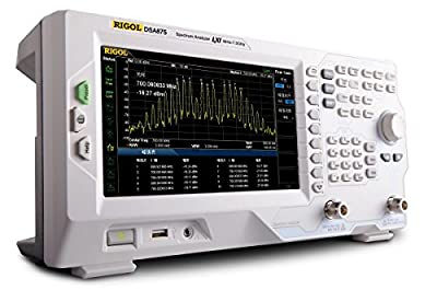 Rigol DSA875 - Bandwidth Range Max: 7.5 Ghz, Bandwith Range Min: 9 kHz