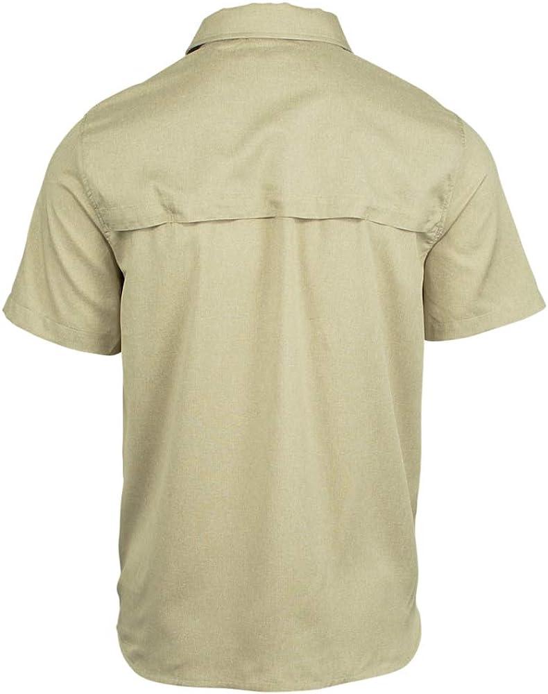 Merrell Entrada II Short Sleeve Stretch Woven Shirt Mens