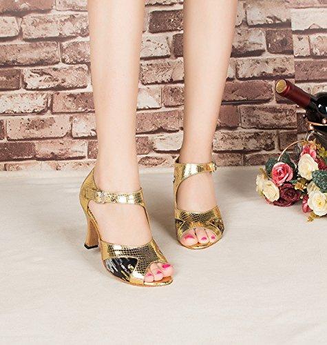 Miyoopark - salón mujer Gold-8cm heel