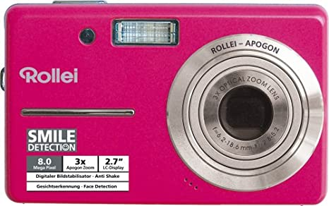 Rollei X 8 Digital Camera 8 Megapixel 3x Opt Zoom Camera Photo