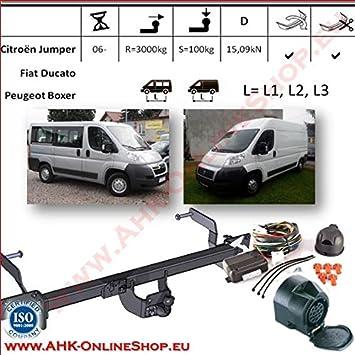 Wondrous Ahk Towbar 13 Pin Wiring Kit For Citroen Jumper Peugot Boxer Fiat Wiring Database Ittabxeroyuccorg