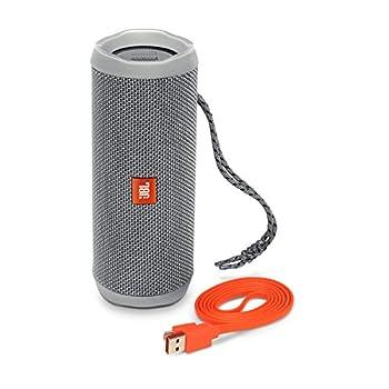 Jbl Flip 4 Waterproof Portable Bluetooth Speaker (Gray) 2