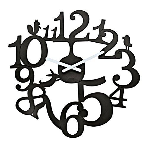 Koziol 2327536 koziol Clock black