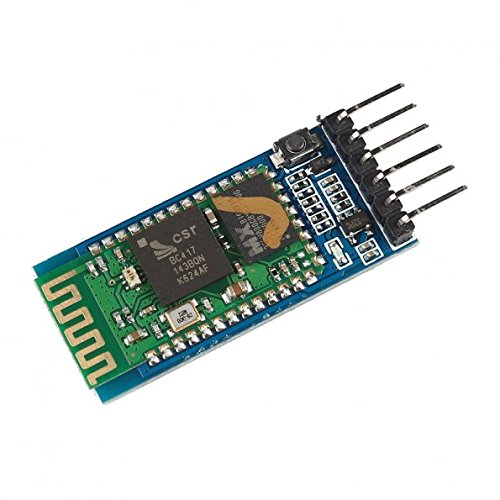 LeaningTech HC-05 Wireless Bluetooth Host Serial Transceiver Module Slave & Master RS232 for Arduino (BC27823) (Pic Wireless Controller)