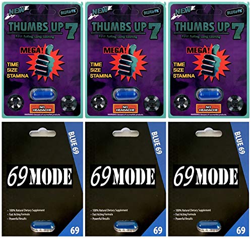 69 Mode 3 Pills Thumbs Up 7 Blue 3 PillsMale Enhancing Natural Performance Pill The New Most Effective Natural Amplifier for Performance, Energy, and Endurance