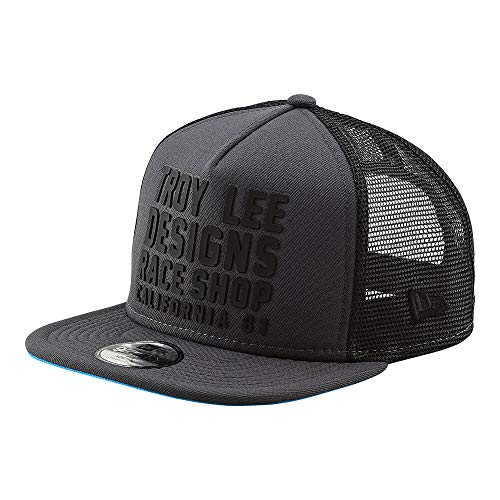 Troy Lee Designs Youth Kids RC Cali Snapback Hat (One Size, Graphite)