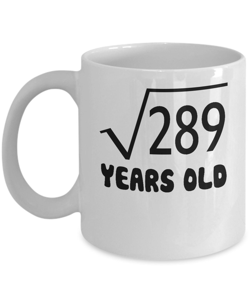 Amazon 17 Year Old 289 Shirt 6th Birthday Gift Ideas For Boy And Girl Funny Personalized Custom Coffee Mugs DS2 Kitchen Dining