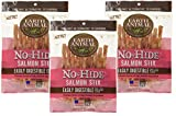 30 Count – Earth Animal No-Hide Salmon Stix (3 Packages with 10 Stix Each)