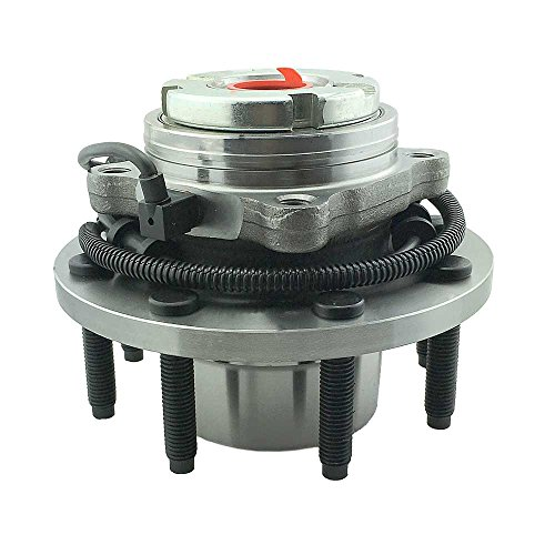 (HU515020K x 1 Wheel Bearing Hub Assembly Front Left or Right Side (4WD Coarse Thread) Fit 00-02 Ford Excursion,02-04 F250, 99-04 F250, 99-04 F350, 03-04 F450 Super)