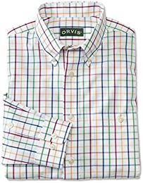 Men Pure Cotton Wrinkle free Pinpoint Oxford Shirtregular Multi X Large