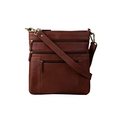 8bb9b43d06d Image Unavailable. Image not available for. Color  Dwellbee Crossbody Purse  (Buffalo Leather, Brown)