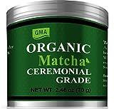 GMA Organic Matcha Green Tea Powder 2.46 oz - Ceremonial Grade