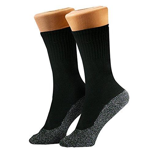 35 Below Ultimate Comfort Socks | Aluminized Thread, Soft Nylon Knit...