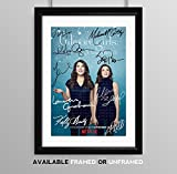 Gilmore Girls Cast Signed Autograph Signature Autographed A4 Poster Photo Print Photograph Artwork Wall Art Picture TV Show Series Season DVD Boxset Memorabilia Gift (POSTER ONLY)