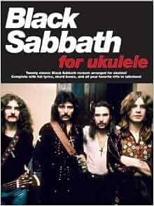 black sabbath for ukulele 0752187001614 black sabbath books. Black Bedroom Furniture Sets. Home Design Ideas
