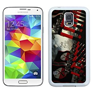 Durable and Easy set Galaxy S5 Case,Durable I9600 Case Design with Pink Floyd Samsung Galaxy S5 SV I9600 Case in White