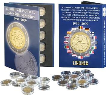 Klappalbum 2 Euro Gemeinschaftsausgabe 10 Jahre Wwu 20 Kapseln