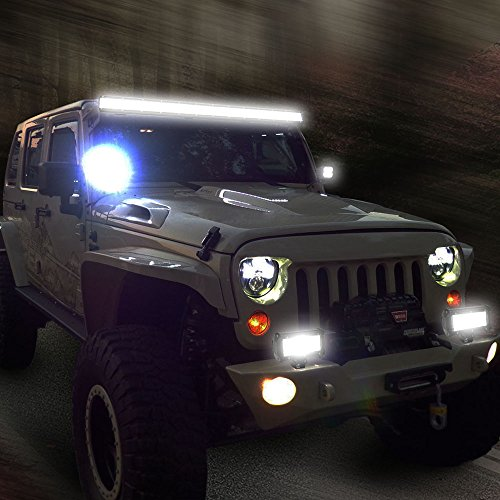 Jimmycars 20inch 126w Cree Led Work Light Bar Combo Beam Offroad Driving SUV UTE Jeep Lamp