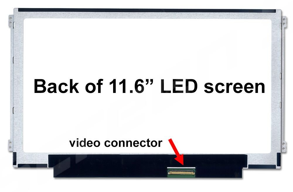 Samsung LTN116AT07-H01 New Replacement LCD Screen for Laptop LED HD Glossy