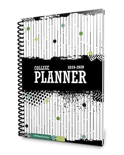 Well Planned Day, College Planner, Linear July 2019 - June 2020 (Best Planners For College Students 2019)
