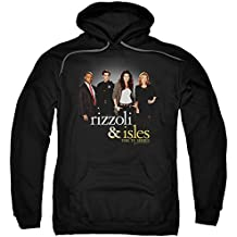 Trevco Rizzoli & Isles Cast Unisex Adult Pull-Over Hoodie For Men and Women