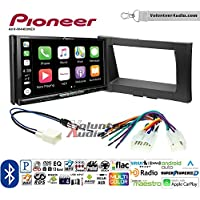 Volunteer Audio Pioneer AVH-W4400NEX Double Din Radio Install Kit with Wireless Apple CarPlay, Android Auto, Bluetooth Fits 2014-2017 Non Amplified Toyota Tundra