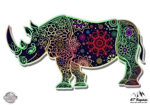 Rhino Tangle Design - 5