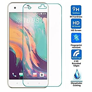 For HTC desire 10 pro Screen Protector, Aisun High Definition (HD) Tempered Glass Screen Protector[1-pack] . [Special offer] Buy 1 and get the second for half price!