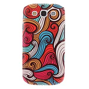 LCJ Colorful Painting Pattern Plastic Hard Back Case Cover for Samsung Galaxy S3 I9300