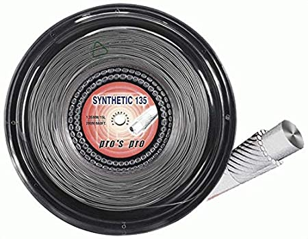 1.35mm 200m Reel Pros Pro Synthetic Gut Tennis String