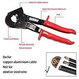 Cable Cutter,Knoweasy Heavy Duty Aluminum Copper