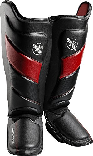 Hayabusa T3 Muay Thai and Kickboxing Shin Guards (Small, - Muay Thai Shorts Hayabusa