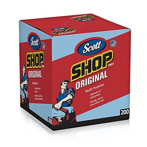 kimberly-clark-75190-scott-shop-towels-10-x-12-blue-1-box-of-200
