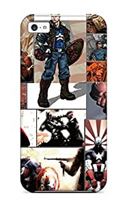 Pamela Sarich's Shop New Fashion Premium Tpu Case Cover For Iphone 5c - Captain America 6578917K37877181