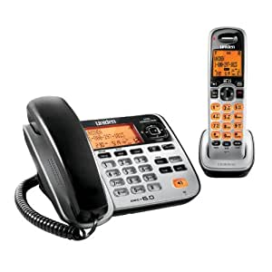 uniden d1688 corded cordless dect 6 0 landline telephone corded cordless. Black Bedroom Furniture Sets. Home Design Ideas