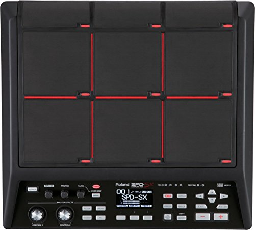 Roland Percussion Electronic Drum Pad (SPD-SX) (Renewed)