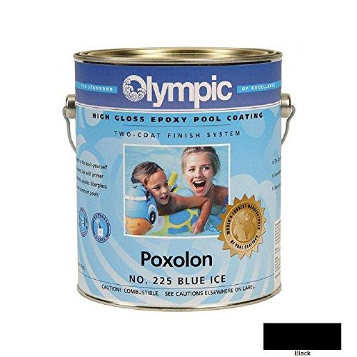 - Kelley Technical 2226GL Olympic Poxolon 2 Epoxy Pool Coating - Black