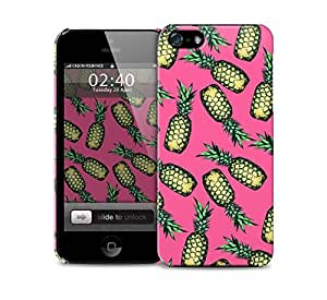 pineapples pink iPhone 5 / 5S protective case by icecream design