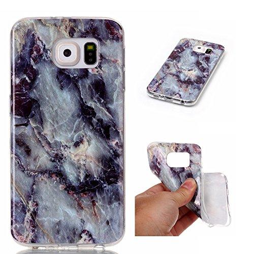 Cover Back nbsp;Protective mármol Samsung Carcasa nbsp;– S6 Diseño Samsung smartphone 2 1 nbsp;con TPU Case mármol Cover marrón funda en Polvo rígida smartphone nbsp;con Galaxy para Diseño Galaxy S6 Skin Conector zay7wEgqxE