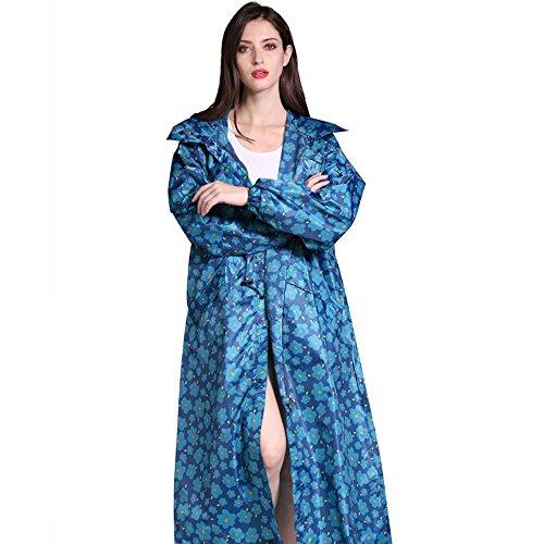青 拡張 増加する シーラント レインコート 嵐の予防 大雨 レインコート 大人 男性と女性 ウインドブレーカー 薄いセクション レインコート ポンチョ 軽量 レインウェア 防水 携帯袋付き