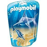 PLAYMOBIL® Swordfish with Baby Building Set