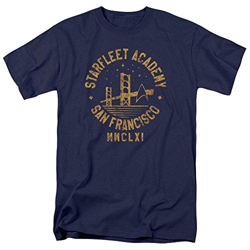 Collegiate Bridge Starfleet Academy T Shirt